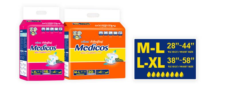 Medicos Adult Diaper